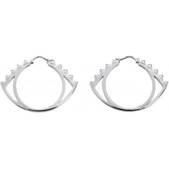 Boucles d'oreilles Kenzo 70238421108000 - Boucles d'oreilles Argent Noir - Kenzo