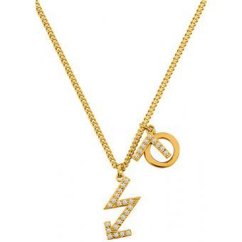 Collier et pendentif Éclair Plaqué Or - Kenzo Bijoux - Kenzo