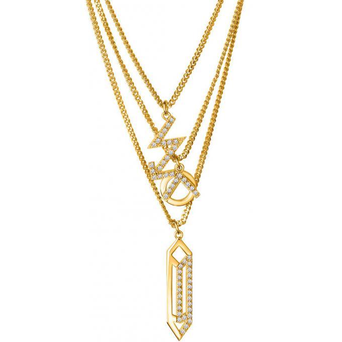 Fabuleux Collier et pendentif Kenzo KZO SAND SYMBOL 70249140108063  JH45