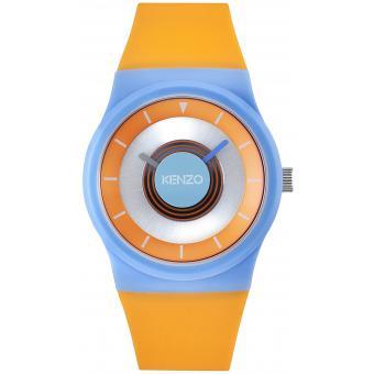 Montre Kenzo Montres K0032001 - Montre Ronde Orange Femme