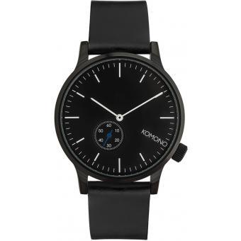 montre komono winston subs kom w3000 montre analogique noire homme sur bijourama montre. Black Bedroom Furniture Sets. Home Design Ideas