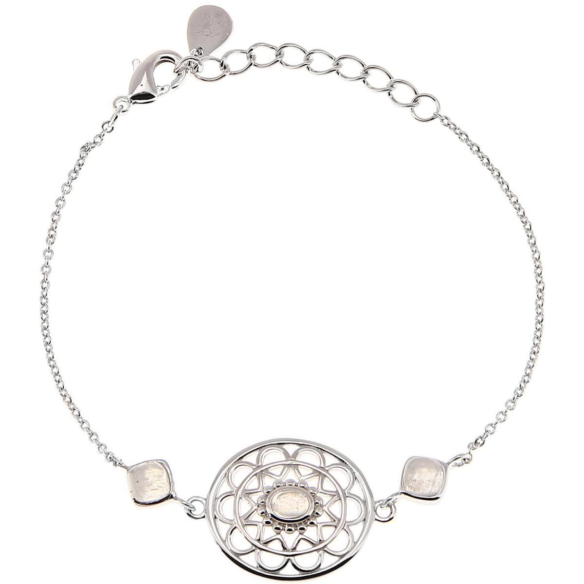 Bracelet Stella Argenté & Pierre De Lune