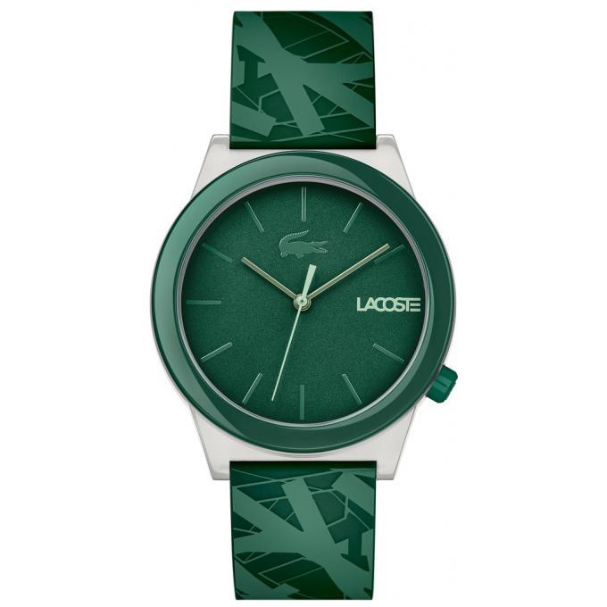 montre lacoste 2010932 montre silicone vert homme sur bijourama montre homme pas cher en ligne. Black Bedroom Furniture Sets. Home Design Ideas