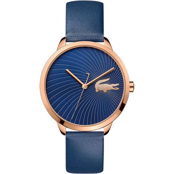 9cfb910402 Montre Lacoste 2001058 - Montre Cuir bleu Femme sur Bijourama ...