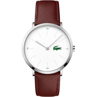 Montre Lacoste MOON-ULTRA SLIM 2010872 - Montre Bordeaux Cuir Homme