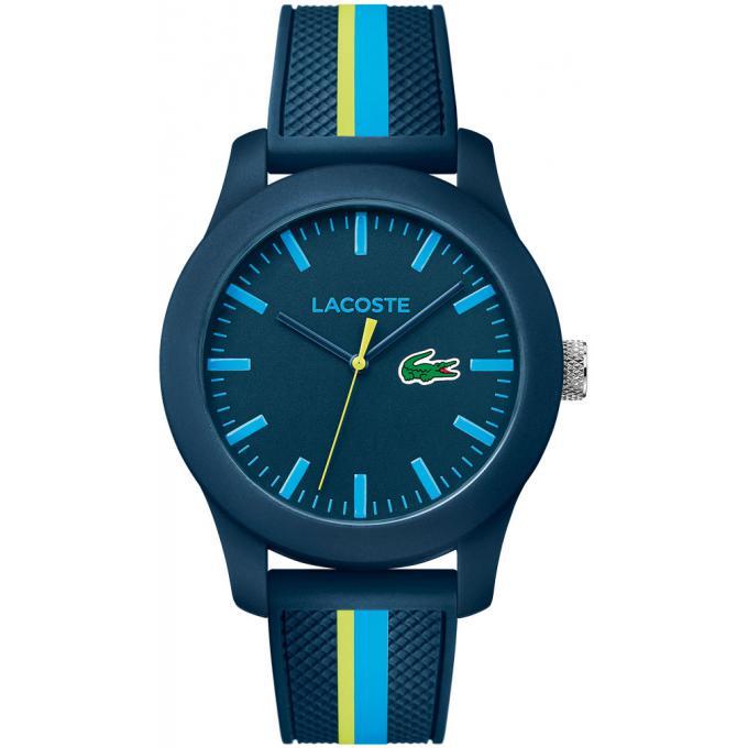 montre lacoste 2010930 montre silicone bleu homme sur bijourama montre homme pas cher en ligne. Black Bedroom Furniture Sets. Home Design Ideas