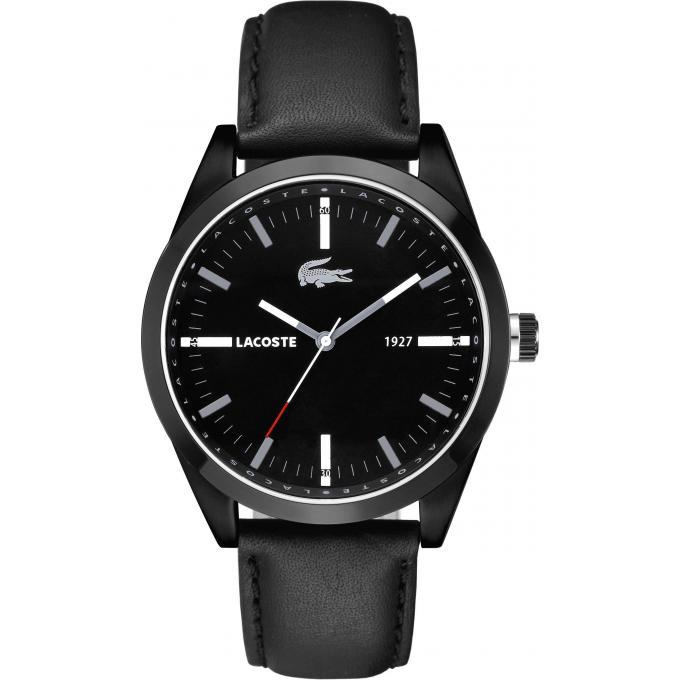 montre lacoste 2010598 montre analogique noire homme sur bijourama n 1 de la montre homme. Black Bedroom Furniture Sets. Home Design Ideas