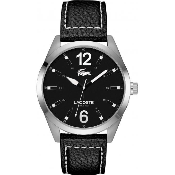 montre lacoste 2010695 montre noire quartz homme sur bijourama montre homme pas cher en ligne. Black Bedroom Furniture Sets. Home Design Ideas