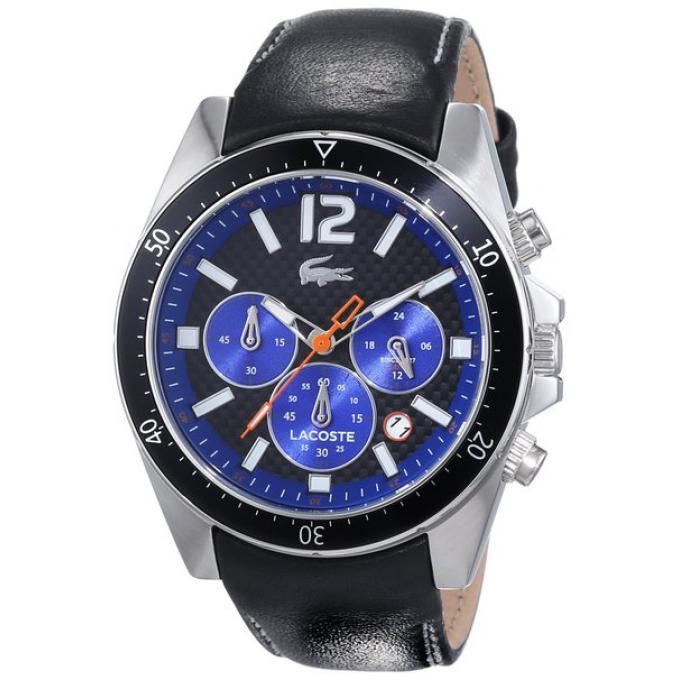 montre lacoste 2010752 montre cuir chronographe homme sur bijourama montre homme pas cher en. Black Bedroom Furniture Sets. Home Design Ideas