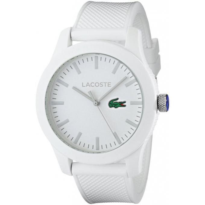 montre lacoste 2010762 montre ronde blanche mixte sur bijourama montre mixte pas cher en ligne. Black Bedroom Furniture Sets. Home Design Ideas