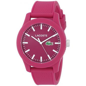 Montre Lacoste 2010793 - Montre Silicone Rose Homme
