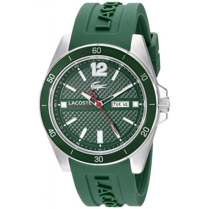 montre lacoste 2010800 montre analogique verte homme sur bijourama montre homme pas cher en. Black Bedroom Furniture Sets. Home Design Ideas