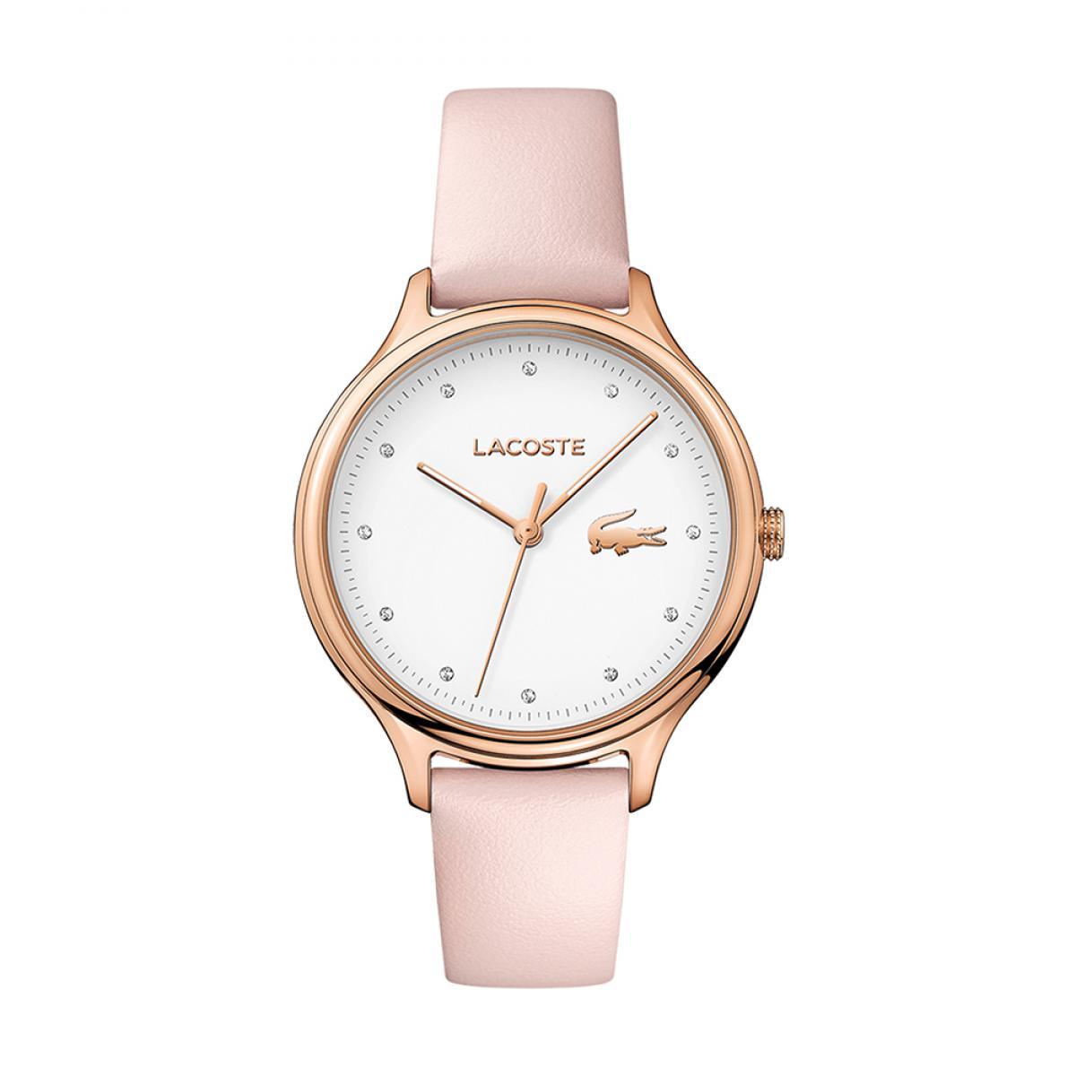 bracelet cuir femme montre