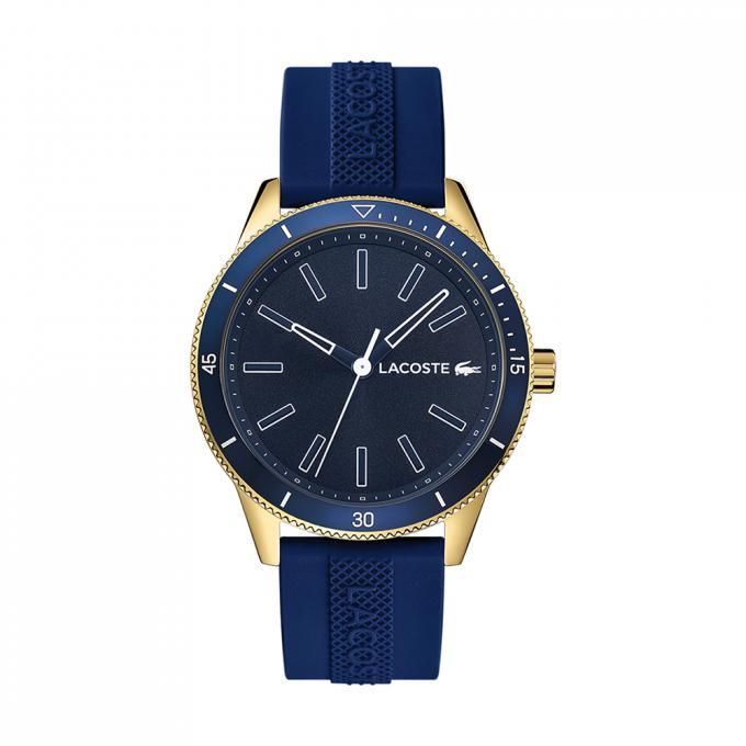 807c1d66e0 Montre Lacoste KEY WEST 2011008 - Montre Affichage Analogique Bracelet  Silicone Bleu Homme