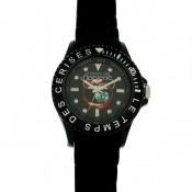 Montre Le Temps Des Cerises Noire Bouche Glamour TC55BKSN