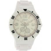 Montre Le Temps Des Cerises Plastique Blanc TC67WTPU