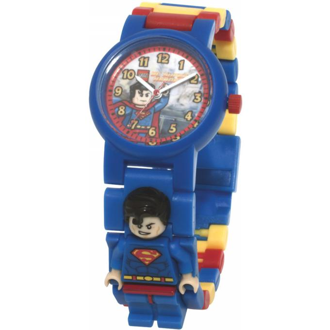 montre lego super heroes 740444 montre superman bleue. Black Bedroom Furniture Sets. Home Design Ideas