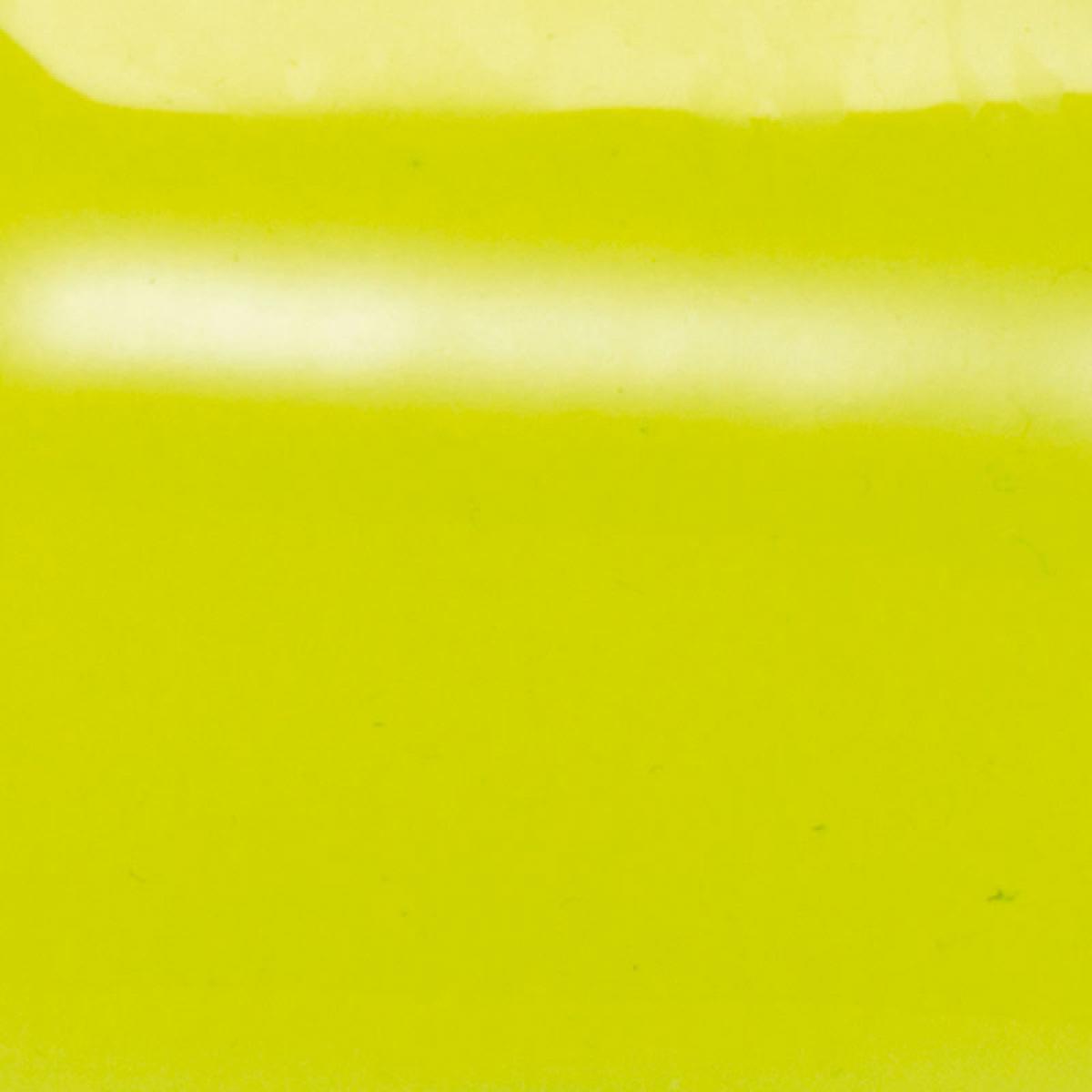 Cuir pour Bague Les Georgettes 703018584BA000 - Cuir pour Bague Vinyle Cristal Fluo Jaune Femme