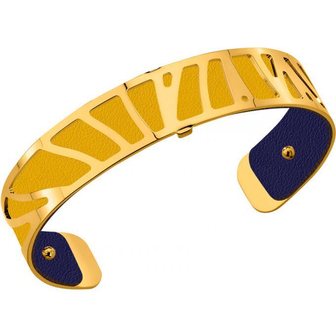Cuir pour Bracelet Les Georgettes CUIR SUN,MARINE , Cuir pour Bracelet  Réversible Interchangeable Femme