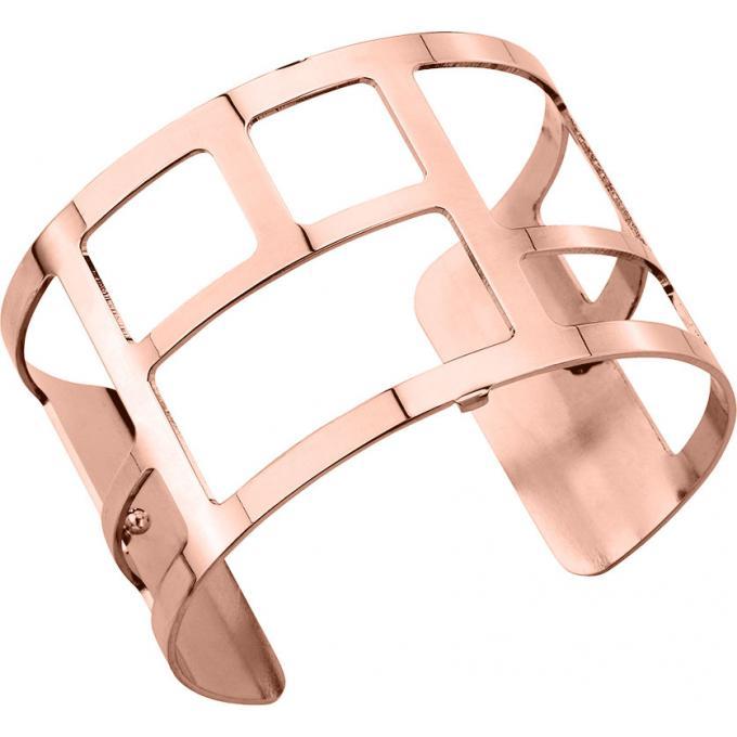 Bracelet Labyrinthe Les Georgettes 70250964000 , Bracelet Manchette Or Rose  Taille Large Femme