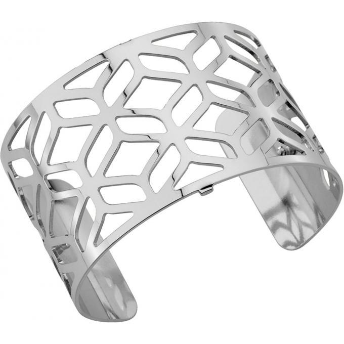 Bracelet Alhambra Les Georgettes 70265411600 , Bracelet Manchette Argent  Taille Large Femme