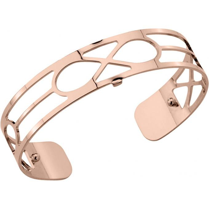 Bracelet Infini Les Georgettes 70265464000 , Bracelet Manchette Or Rose  Taille Small Femme