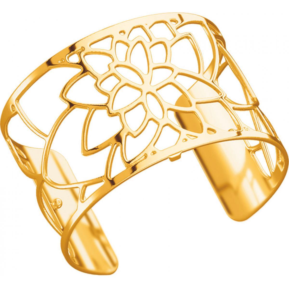 bracelet femme large couleur or