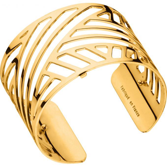 Bracelet Ruban Les Georgettes 70285670100 , Bracelet Manchette Or Taille  Large Femme