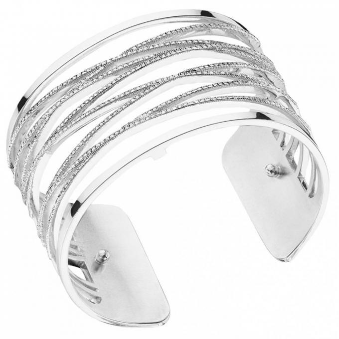 Bracelet Les Georgettes Les Précieuses 70276881608000 , Bracelet Liens  Laiton Finition Argent Femme