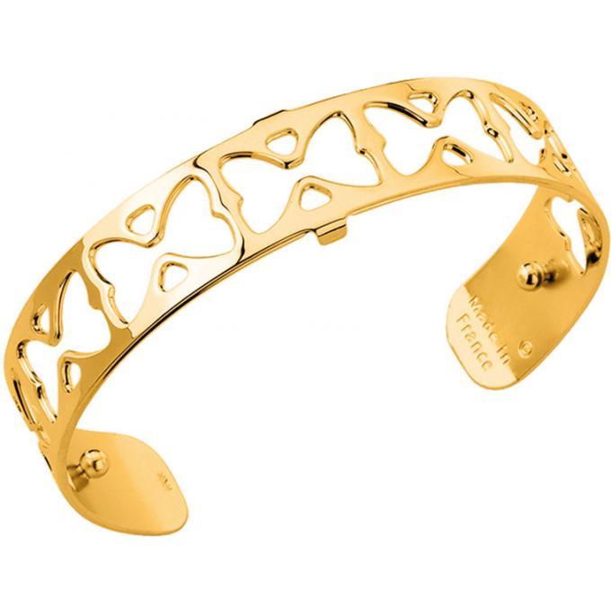 Bracelet Les Georgettes Miss , Bracelet Papillon Laiton Finition Or Femme