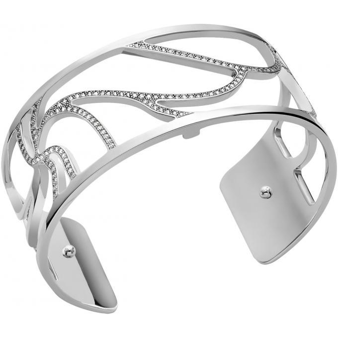 sélection mondiale de grande sélection nouveau authentique bracelet manchette Les Georgettes Les Précieuses 70318061608000 - bracelet  manchette Acier Largeur 25 mm Argent Femme Plus d'infos