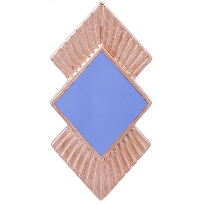 Promo : Clip Les Georgettes 70311144013000 - Clip Coutures Doré Rose 40 mm Femme