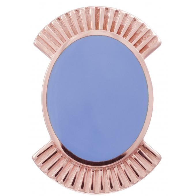 Promo : Clip Les Georgettes 70311154013000 - Clip Coutures Doré Rose 25 mm Femme
