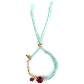 Bracelet Les Néreides ABBC210-1 - Bracelet Cordon Bleu Femme