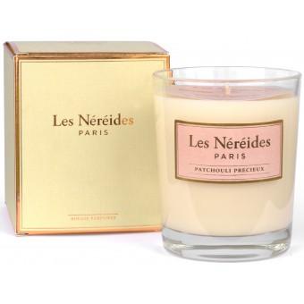 Grande Bougie Parfumée PATCHOULI PRECIEUX - Nouveau Modèle !  - Les Néréides