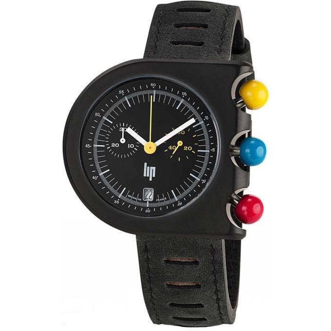 montre lip mach 2000 670081 montre noire chronographe homme sur bijourama n 1 de la montre. Black Bedroom Furniture Sets. Home Design Ideas