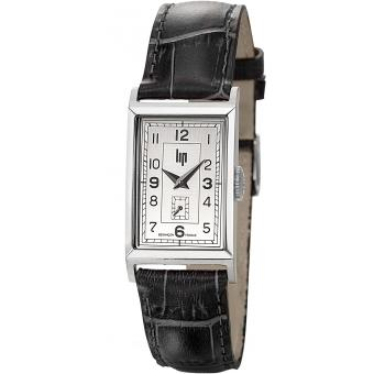 Montre Lip T18 CHURCHILL 671000 - Montre Rectangulaire Dateur Homme