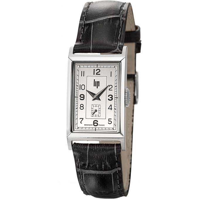 montre lip t18 churchill 671000 montre rectangulaire homme sur bijourama montre homme pas. Black Bedroom Furniture Sets. Home Design Ideas