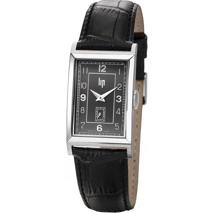 montre lip t18 churchill 671272 montre quartz noire homme sur bijourama montre homme pas. Black Bedroom Furniture Sets. Home Design Ideas
