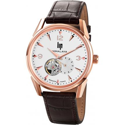 Montre Lip HIMALAYA 1954 671254 - Montre Ronde Or rose Homme