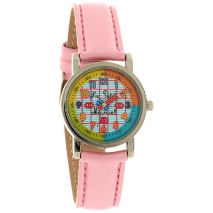 Montre Little Marcel LMP08PKC - Montre Cuir Rose Fille