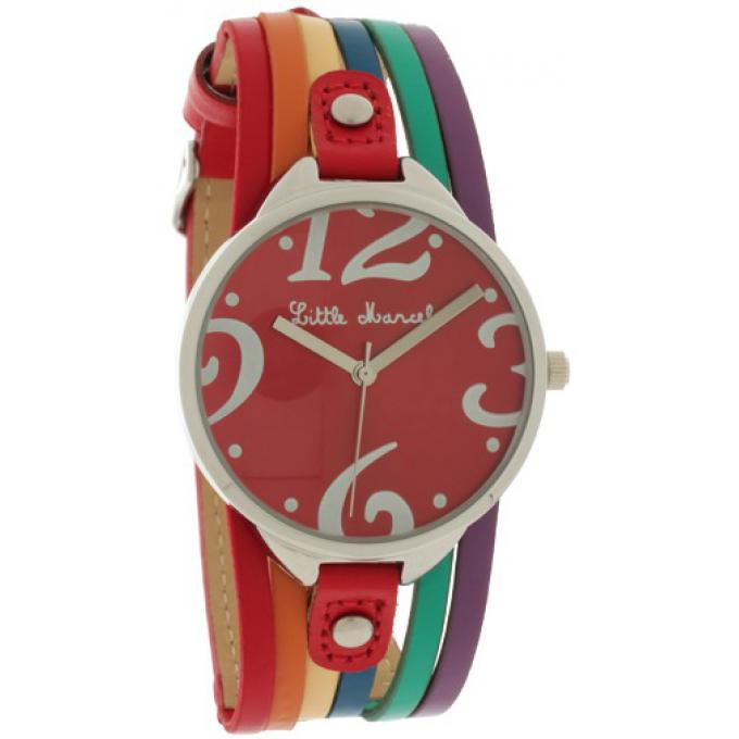 Montre Little marcel LM52RDC - Montre Ronde Muticolore Femme