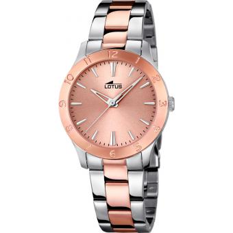Montre Lotus L18139-2 - Montre Ronde Or Rose Femme