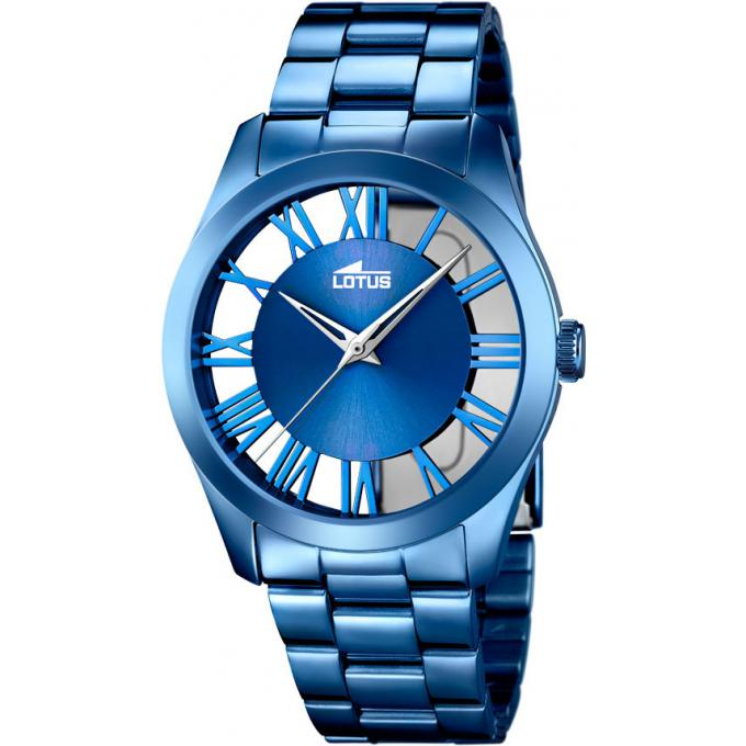 montre lotus l18252 1 montre bleue analogique femme sur bijourama montre femme pas cher en ligne. Black Bedroom Furniture Sets. Home Design Ideas
