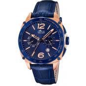 Montre Lotus Montres Bleue Chronographe L18217-1