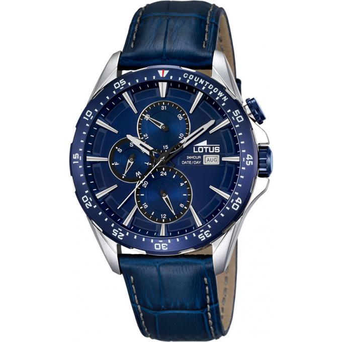 montre lotus l18312 3 montre crocodile bleu homme sur bijourama montre homme pas cher en ligne. Black Bedroom Furniture Sets. Home Design Ideas