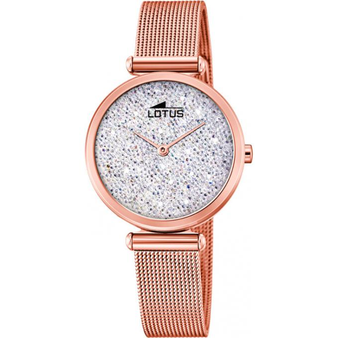 Montre Lotus Bliss L18566 1 Montre Quartz Acier Doree Rose Femme