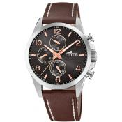 Lotus - Montre Lotus Chrono l18630-3 - Montre Homme Marron