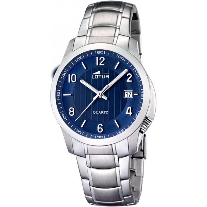 montre lotus l15760 3 montre cadran bleu acier homme sur bijourama n 1 de la montre homme. Black Bedroom Furniture Sets. Home Design Ideas