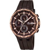Montre Lotus L18187-1 - Montre Chronographe Marron Homme